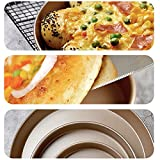 9-Inch Pizza Pan 2-Pack Non-Stick Carbon Steel