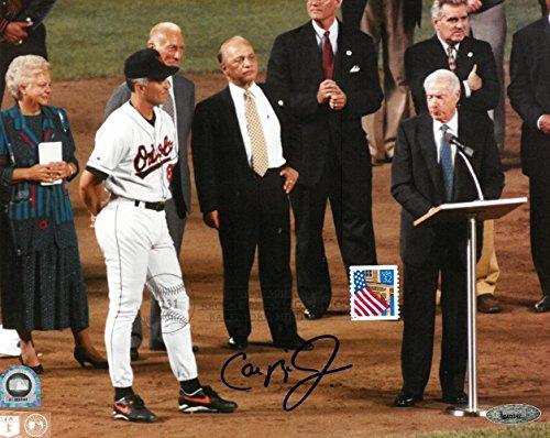 (Cal Ripken Jr Signed Orioles 2131 Game Autographed 8x10 Photo Tristar)