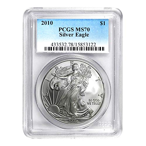 2010 American Silver Eagle ASE $1 MS-70 PCGS