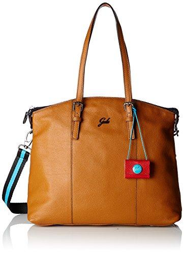 GABS Amanda Tg M Black - Shopping Palmellato - Bolso Mujer Marrón (Cuoio)