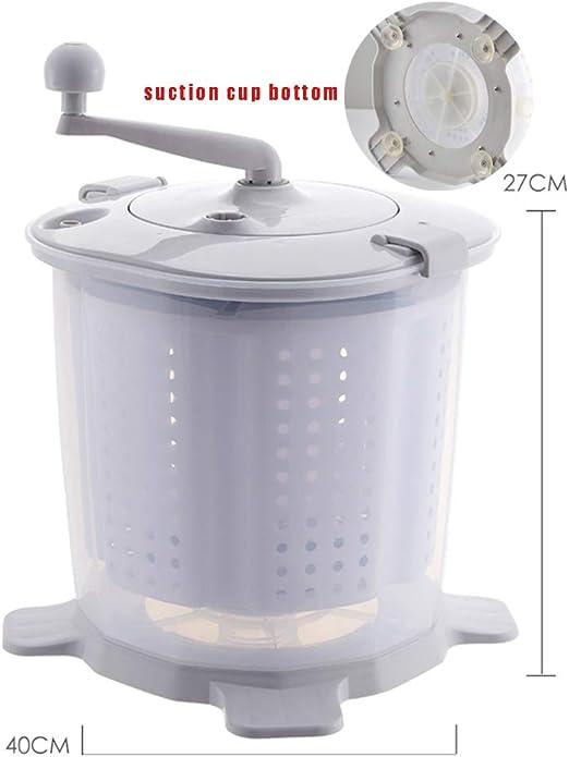 Mini Lavadora Portátil De Manivela Ropa Manual Lavadora No ...