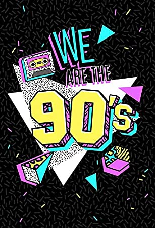 Amazon Com Baocicco 5x7ft Back To 90s Theme Backdrop We Are 90s Backdrop For Photography Background Party Decor 90s Hip Hop Music Party Themed Birthday Party Children Adults Portrait Studio Video