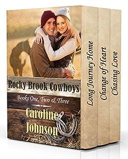 Rocky Brook Cowboys: Books One, Two & Three by [Johnson, Caroline]