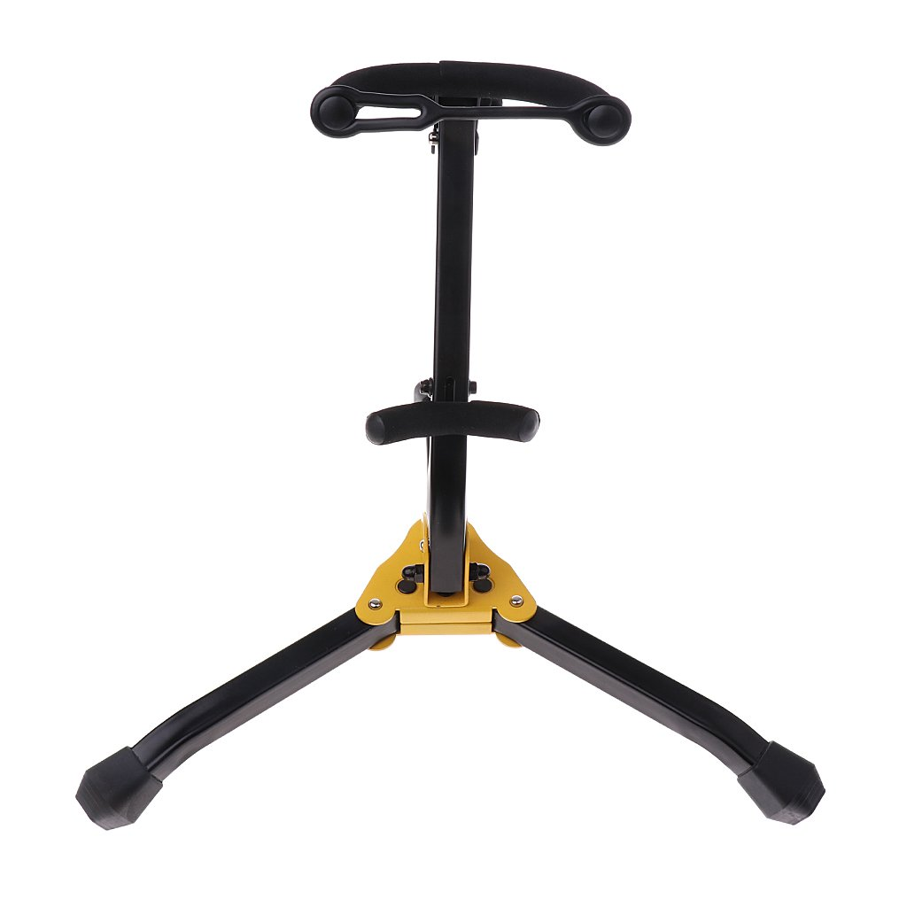MagiDeal Foldable Saxophone Stand Woodwind Instrument Accessory for Sax Lovers