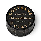 Triumph & Disaster Coltrane Clay 3.35oz – Designer Matte Medium Hold Conditioning Hair Styling Clay Made with Natural White Clay Beeswax and Pracaxi Oil