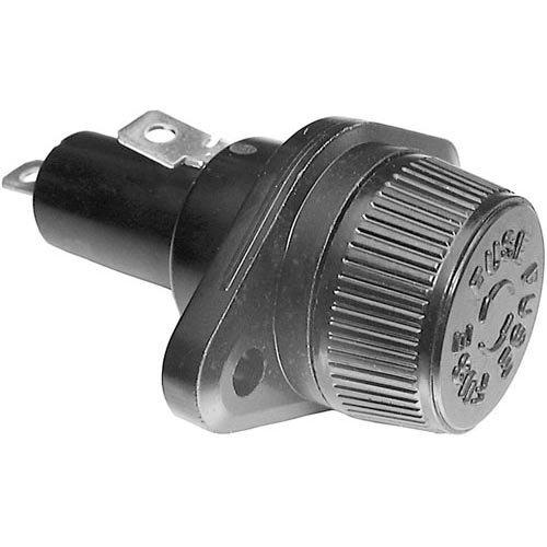 Cleveland 06343 Fuse Holder 30Amp 600V 13/32'' X 1-1/2'' Screw Cap For Cleveland Steamcraft 381106