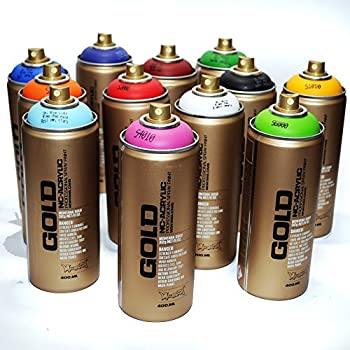Montana Gold Acrylic Professional Spray Paint 400 Ml