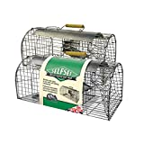 STV International Selfset Multi-Catch Rat Trap (Humane, Durable, Ready-To-Use Rodent Pest Trap, Catches up to 5 Rats for Use Indoors and Outdoors)