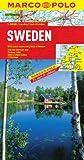 Sweden Marco Polo Map (Marco Polo Maps)