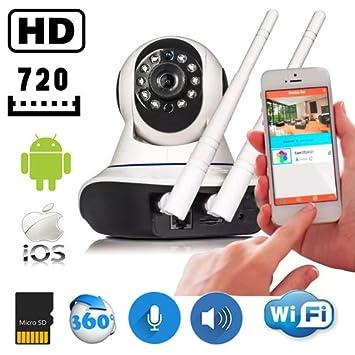 f541bccbf0fa0 Câmera IP Ir Wireless com visão noturna para Celular Iphone e Android