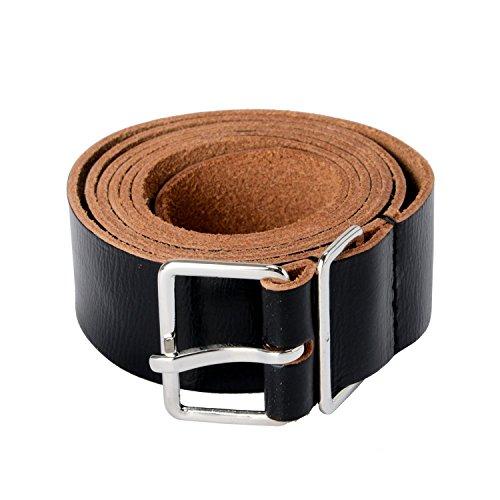 (Dsquared2 100% Leather Black Men's Belt US 44 IT 110)