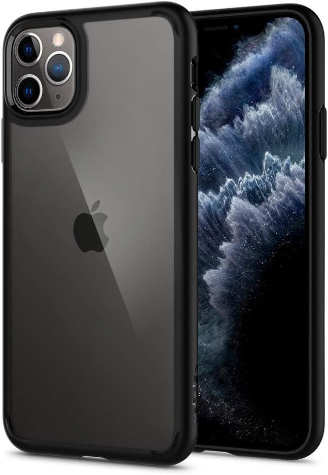 Amazon Com Spigen Ultra Hybrid Designed For Iphone 11 Pro Max Case 2019 Matte Black