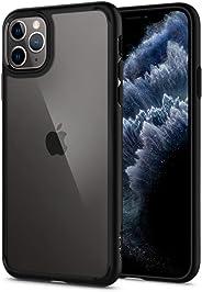 Capa iPhone 11 Pro Max Spigen Ultra Hybrid Matte Black, Spigen, Capa Anti-Impacto, Preto