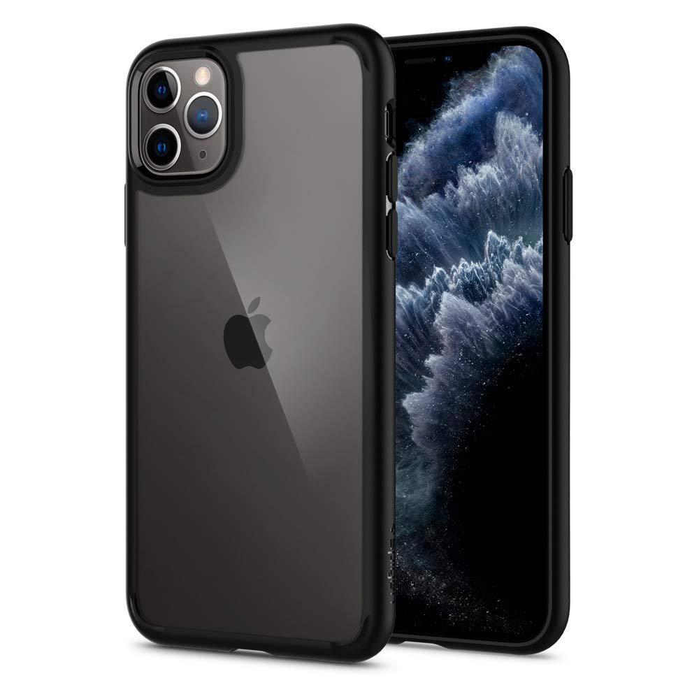 Spigen Ultra Hybrid Case compatible with iPhone 11 Pro - Black