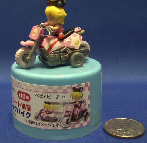 Super Mario Kart Micro Mini Baby Princess Peach Bike (Japanese Promo ) -