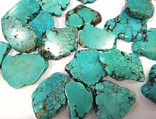 Cabochon stone 18-30mm 20pcs turquoise gemstone Freeform slab blue green turqouise bead