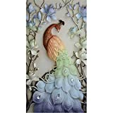 Mazixun Special Shaped Diamond Embroidery Animal Peacock 5D Diamond Painting Cross Stitch 3D Diamond Mosaic Decoration Christmas