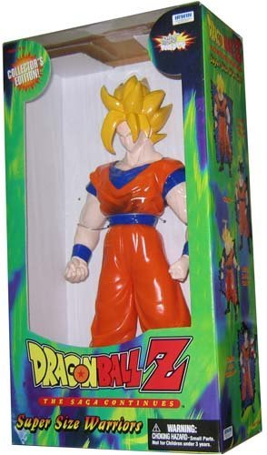 Dragonball Z Super Size Warriors Super Saiyan Goku [並行輸入品]   B07HLK2RYH