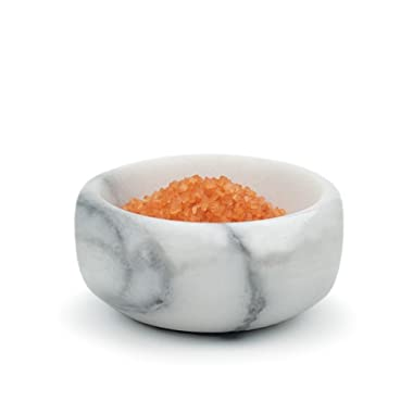 Herb and Salt Bowl - White Marble - 1 Pack