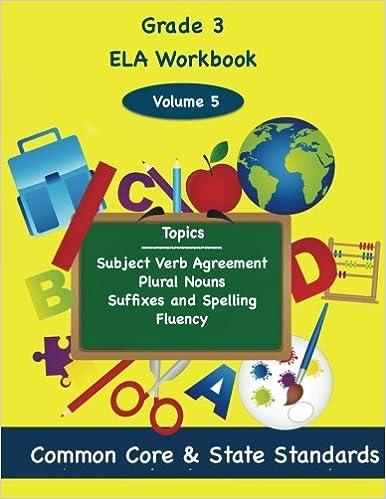 Third Grade Ela Volume 5 Subject Verb Agreement Plural Nouns