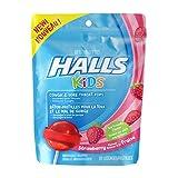 Halls Kids Strawberry Pops Bag, 10 Count