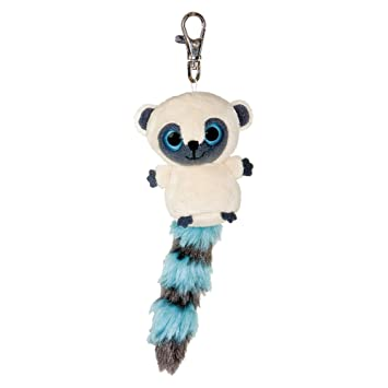 YooHoo & Friends - Llavero de peluche, 8 cm, color blanco y azul (