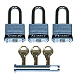 Ghost Controls AX3L Security Kit with 3 Locks and 1 Clevis Pin for Automatic Gate Opener Systems