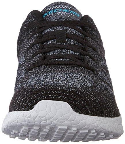 Skechers Burst New Influence - Zapatillas de Deporte Mujer Black/White