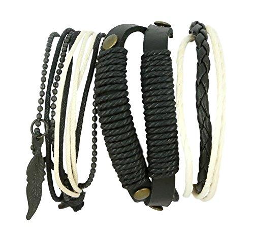 ShalinIndia Wholesale Lots Jewelry for Retail Resale 1000 Units of Men Fashion Bracelets