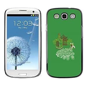 Stuss Case / Funda Carcasa protectora - Absinth Fairy Dreams - Funny - Samsung Galaxy S3