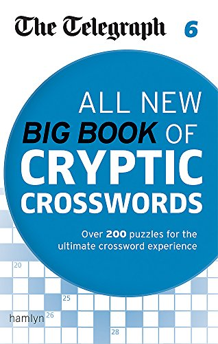 The Telegraph: All New Big Book of Cryptic Crosswords 6 (Telegraph Puzzle Books)