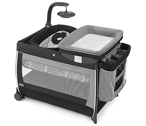 Chicco Cuna Lullaby Glow Génesis, color Negro
