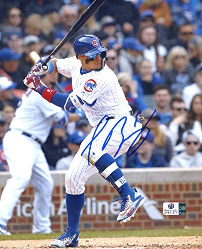 Javier Baez Chicago Cubs Signed Autographed 8