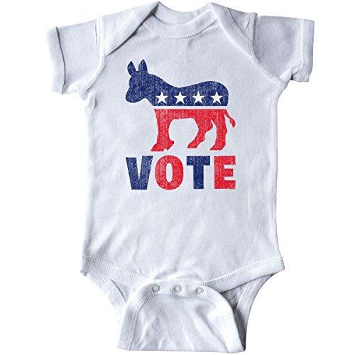inktastic - Democrat Donkey Vote 2 Infant Creeper 18 Months White db61 -