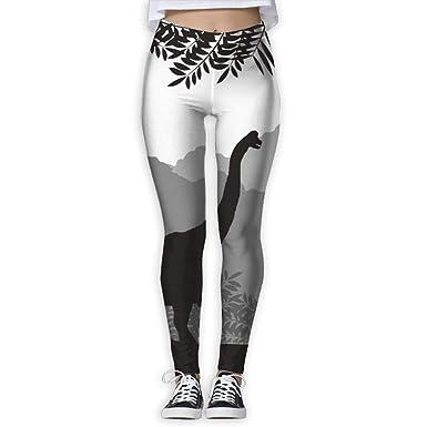 Amazon.com: SHARP-Q - Pantalones de yoga con diseño 3D de ...
