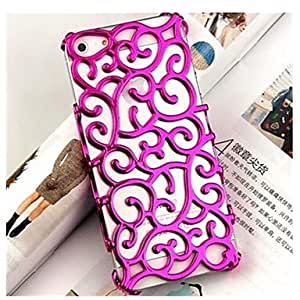 The Court Pattern Solid Color Mesh Plastic Back Cover for iPhone 5/5S (Assorted Color)