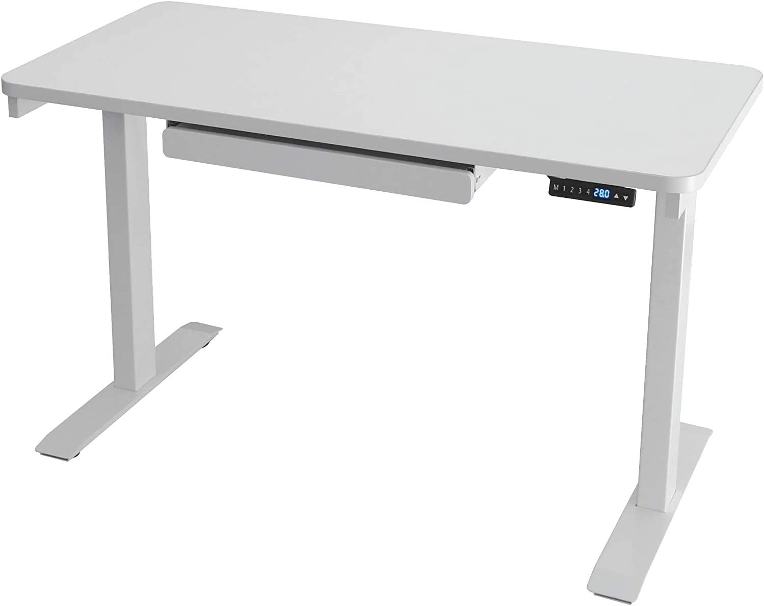 MotionWise 24x48 inch Desk with Drawer 28