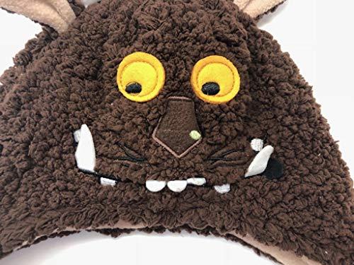 Gruffalo Kid Boy 1-2 Years Plush Soft Winter Halloween Costume Hat & Mittens Set Rare Hard to -