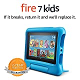 "Fire 7 Kids Tablet, 7"" Display, 16 GB, Blue"
