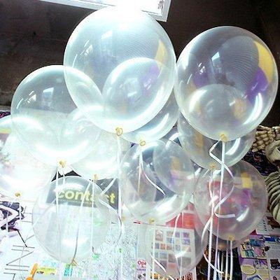 10 Inch Transparent Color Helium Balloons for Party Decoration 100 Pcs/lot