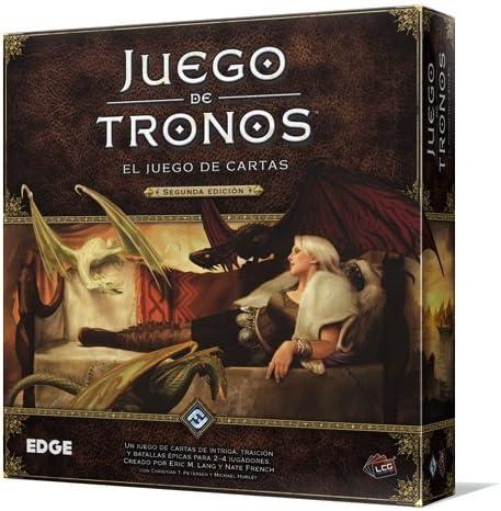 Fantasy Flight Games Juego de Tronos LCG 2ª Edición (EDGGT01 ...
