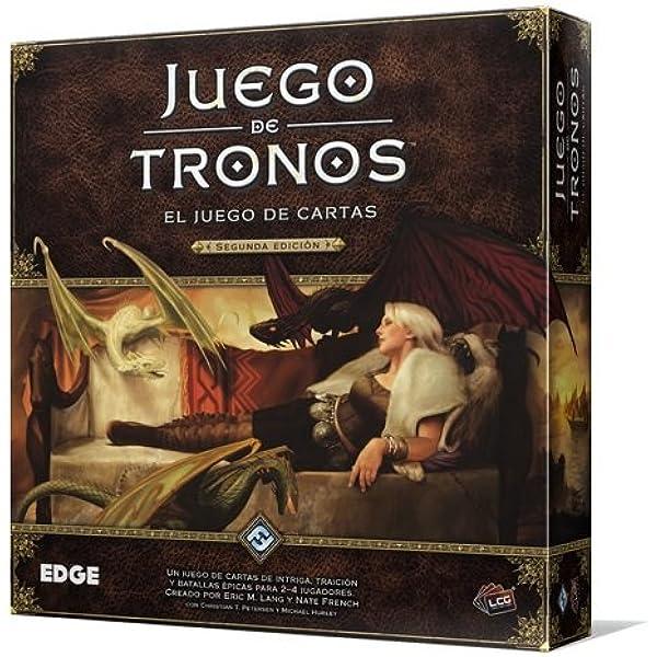 Fantasy Flight Games Juego de Tronos LCG 2ª Edición (EDGGT01): Amazon.es: Juguetes y juegos