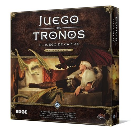 Fantasy Flight Games Juego de Tronos - Juego de Mesa LCG, 2ª edición (Edge Entertainment EDGGT01)