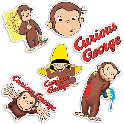 Popfunk Curious George Monkey Collectible Stickers ()