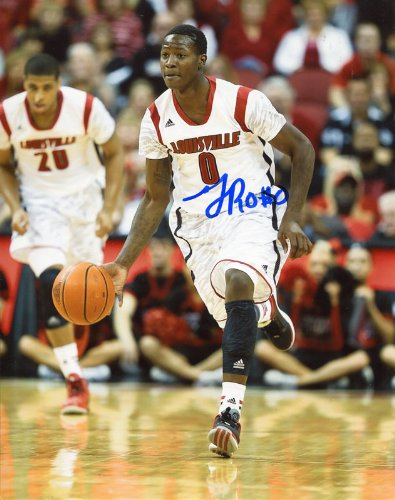 2e6d6979edb Image Unavailable. Image not available for. Color  Terry Rozier Autographed  8x10 Photo