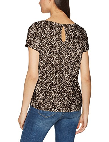 Camicia SS Multicolore Top Noos Wvn Leo Donna AOP Onlfirst Only Mix Taupe Desert mini Aop 04zxw1nCq