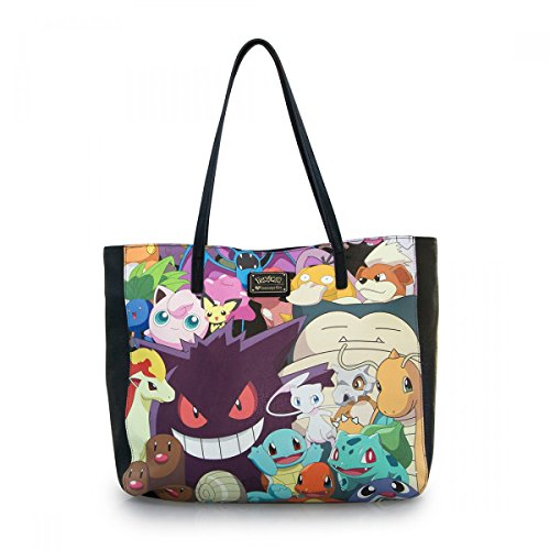Pokemon Collection Wide Tote Bag -
