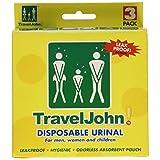Travel John - Portable Bathroom (3 pack)