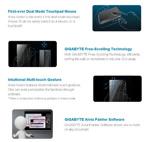 Gigabyte Aivia Xenon Touchpad/Mouse Gesture Drivers (2019)