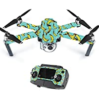 MightySkins Protective Vinyl Skin Decal for DJI Mavic Pro Quadcopter Drone wrap cover sticker skins Bananas